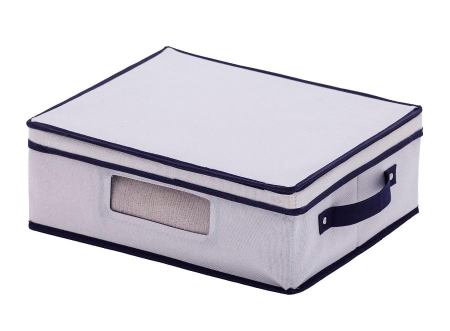 Cesto Organizador Multiuso Concept em Poliéter 38cm Paramount Off White