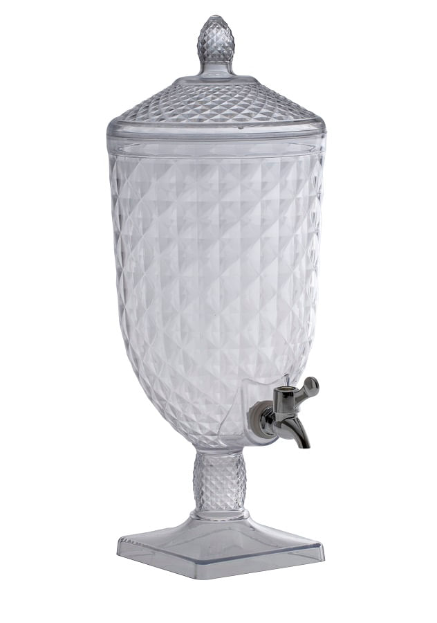 Suqueira Luxxor em Poliestireno Transparente 5 Litros Paramount
