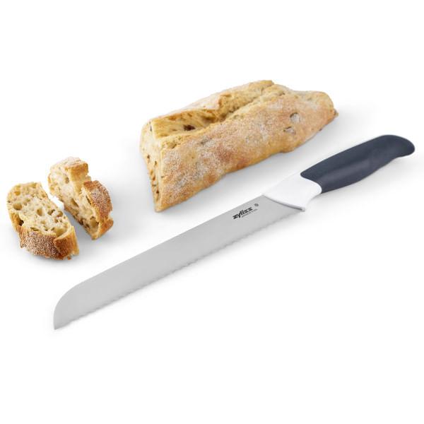 Faca para Pão Comfort em Aço Inox 20,5cm Zyliss