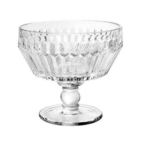 Conjunto de 6 Taças para Sobremesa Bretagne Cristal Ecológico 360ml Full Fit