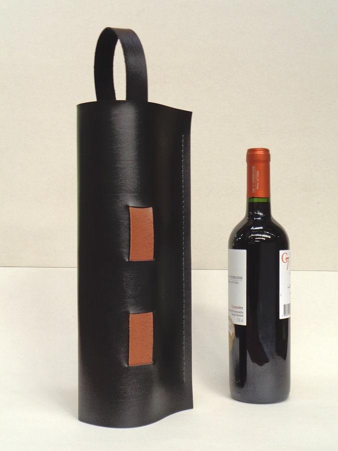 Porta Vinho Dion 1 AvA Imagina Preto