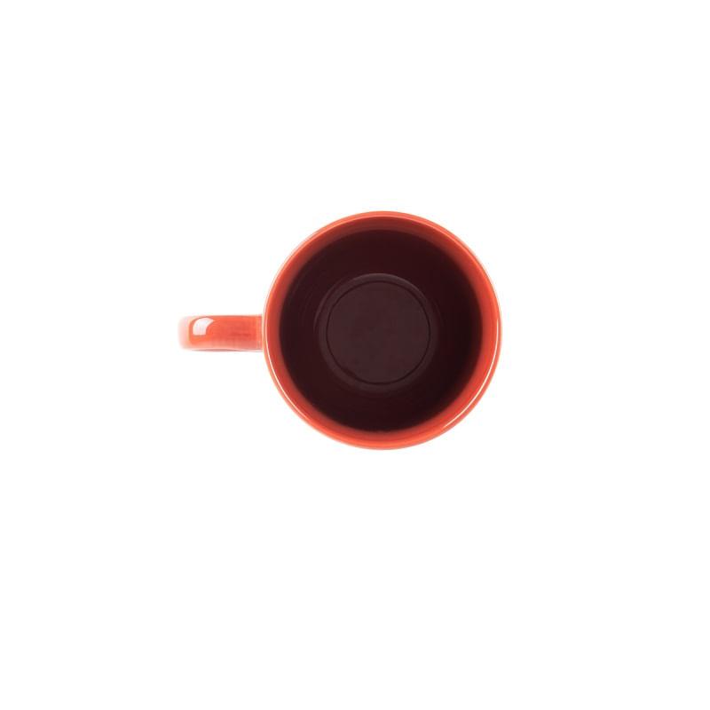 Caneca em Porcelana Grace 370ml Rojemac Vermelha