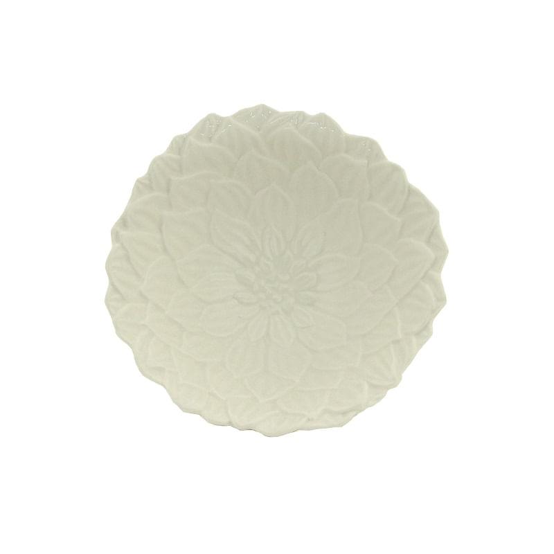 Tigela em Porcelana Wolff Daisy 14x6cm Rojemac Branca