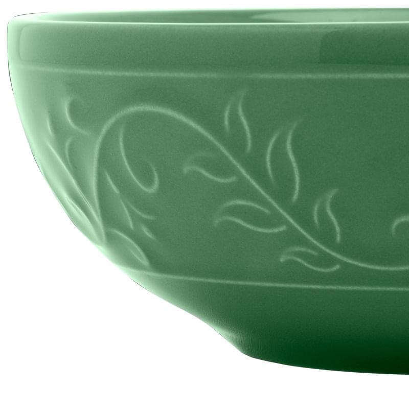 Tigela em Cerâmica Wolff Alanya 15cm Rojemac Verde