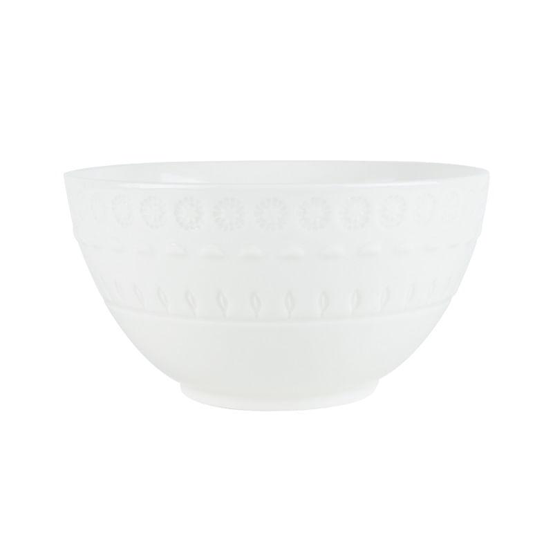 Tigela em Porcelana Wolff Grace 15cm Rojemac Branco