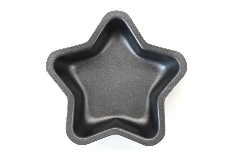 Mini Forma Estrela em Aço Carbono 11,5cm Hudson Preta