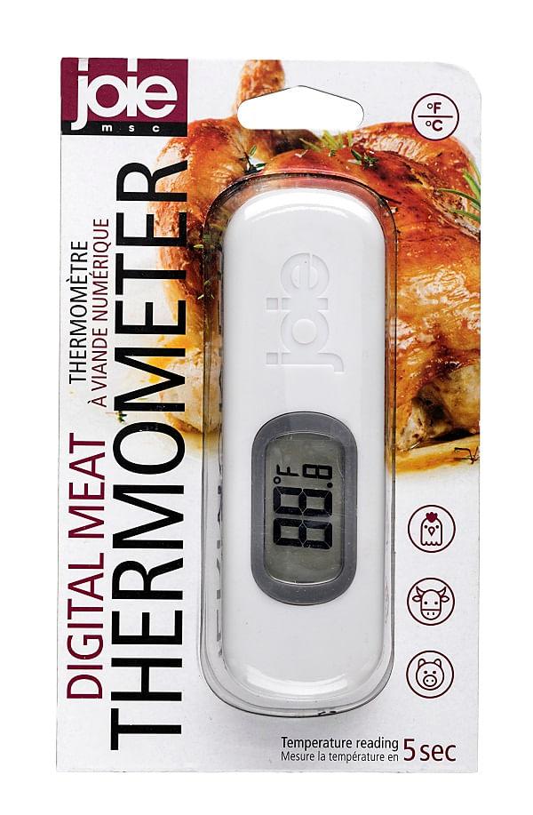 Termômetro Digital de Plástico para Carne  Hudson Branco