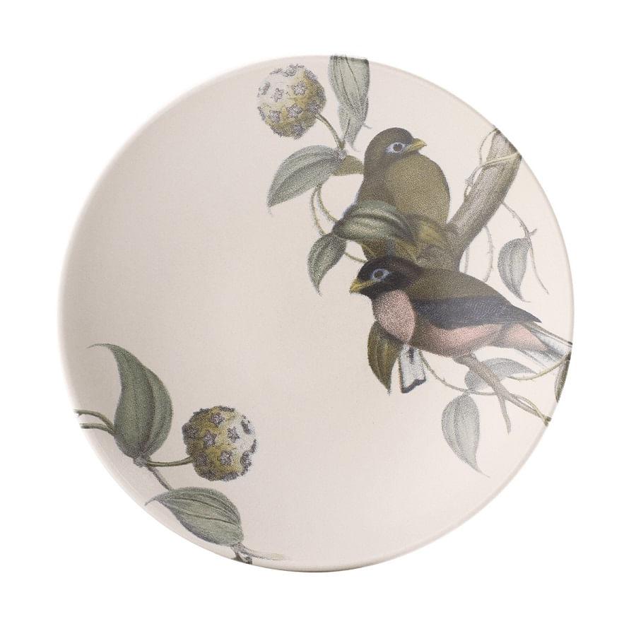 Prato Fundo em Cerâmica Faiança La Vie 21cm Porto Brasil