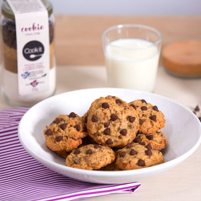Cookie Choc Chip 250g Cook it