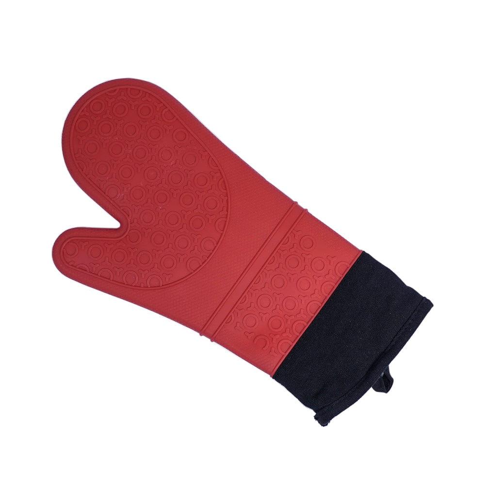 Luva de Silicone 19x37cm Kenya Vermelha