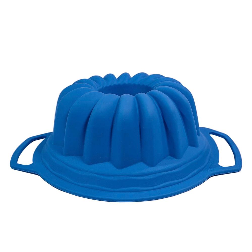 Forma Aramada Silicone 25cm Spicy Azul