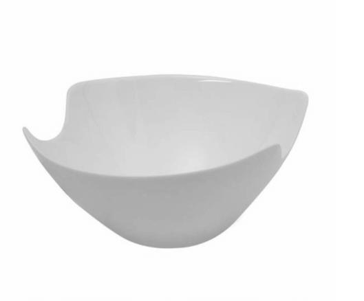 Saladeira de Vidro Salenco 24cm Luminarc Branca