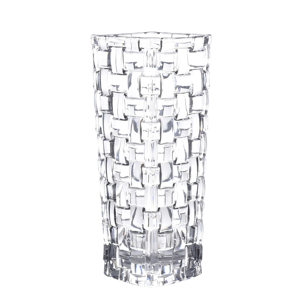 Vaso em Cristal Bossa Nova 16cm Natchmann