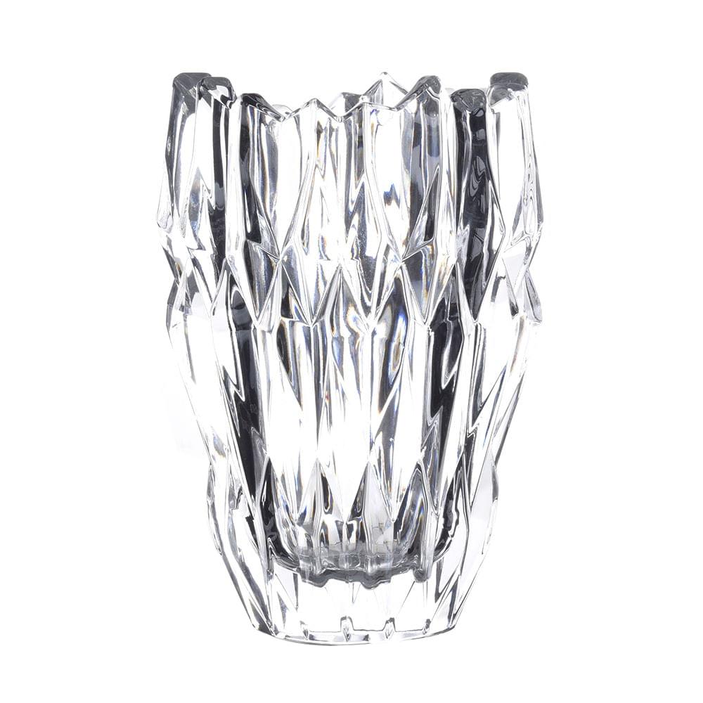 Vaso em Cristal Quartz 16cm Natchmann
