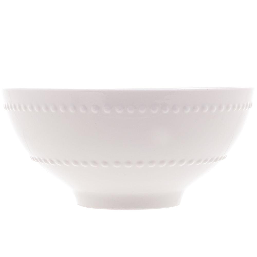 Bowl New Bone Pearl em Porcelana Lyor Branco