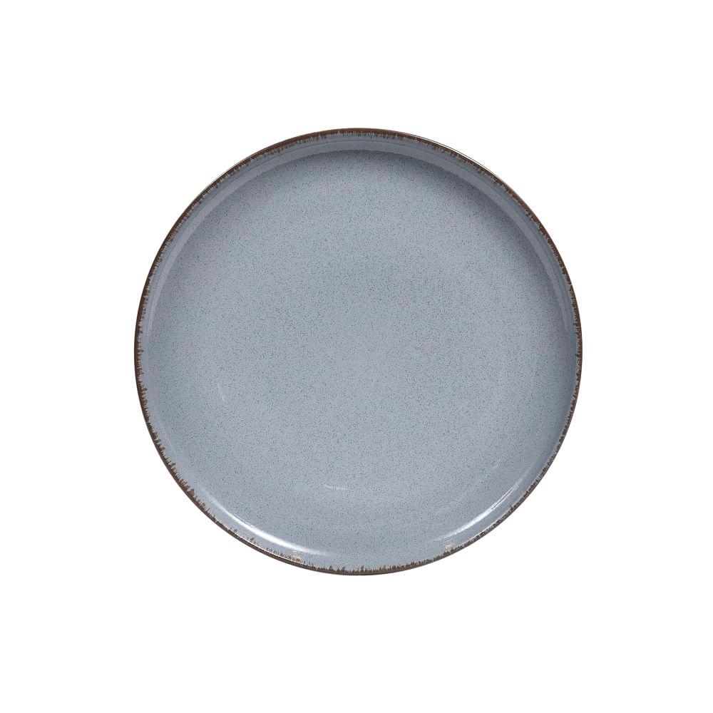 Prato de Sobremesa Mood em Porcelana 19cm Spicy Azul
